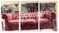 CHESTERFIELD, 2013-polyptyque, bic 4 couleurs sur papiers-100x200cm