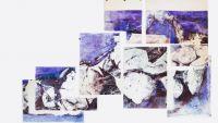 Gloria 2013-polyptyque sur papiers bic quatre couleurs-200X300cm