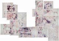 LUI , 2016-polyptyque, bic quatre couleurs-300X400cm